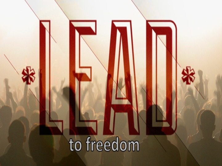 lead to freedom logo