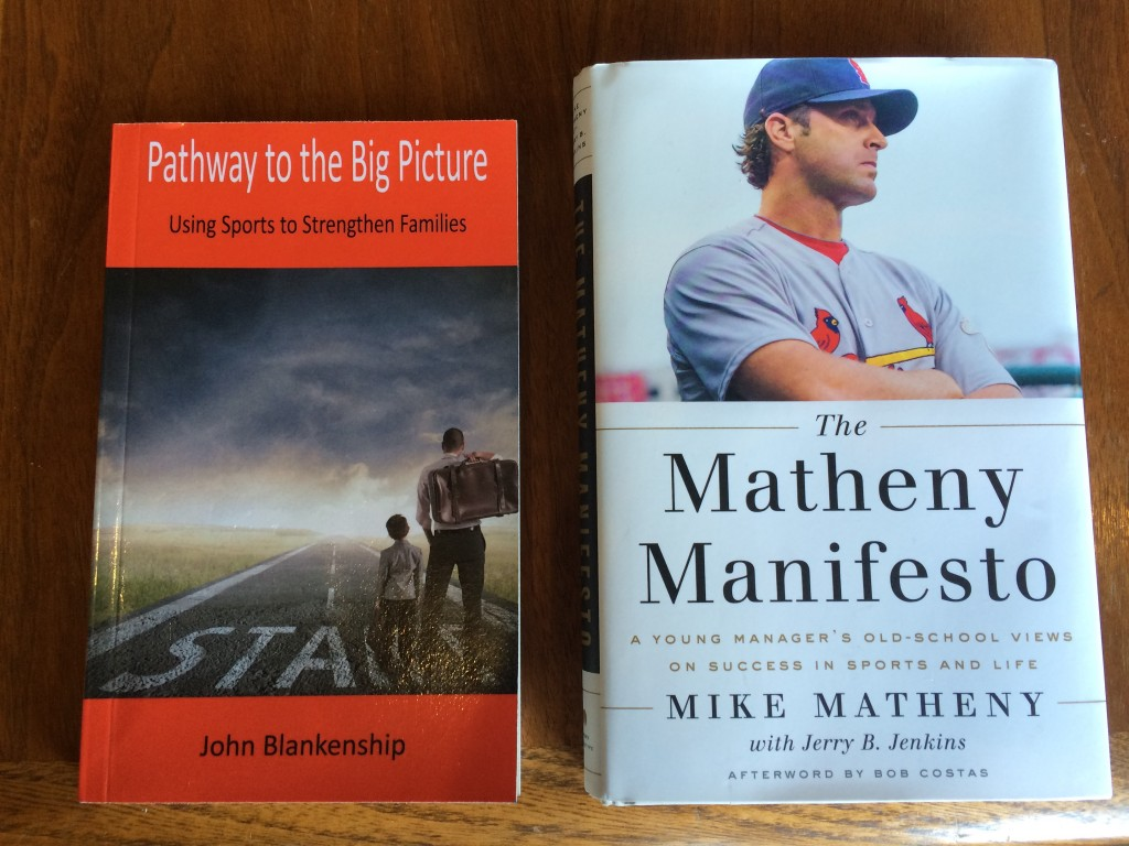 2 Great Books Matheny and Blankenship
